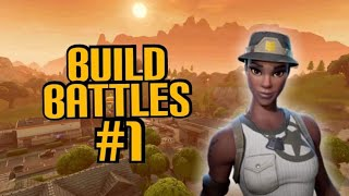 Build Battles #1 | First Time Sweating Playground