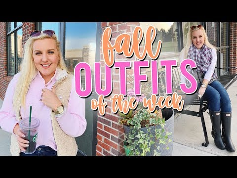 PREPPY FALL OUTFITS OF THE WEEK (Hunter Boots, Southern Shirt & MORE!)     Kellyprepster