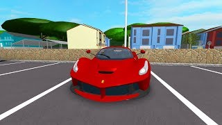 We drove to the city in our new car And I went to 10 houses! Panda and Roblox Pacifico