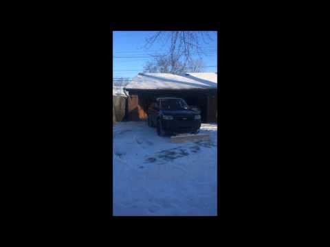 DIY wood snow plow