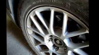 Замена левого переднего привода на автомобиле Ниссан Примера Р12