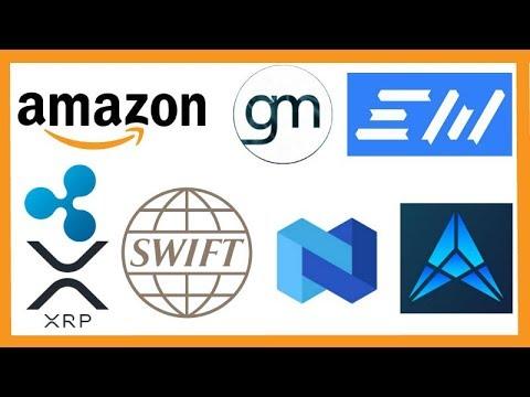 "Amazon Crypto Patents - GoverMedia Plus EXMO Exchange - Brad Garlinghouse ""Ripple Taking Over Swift"""