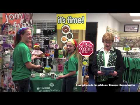 National girl scout cookie weekend showcase sale youtube