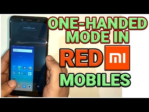 How To Enable One Hand Mode In All Redmi Mobiles