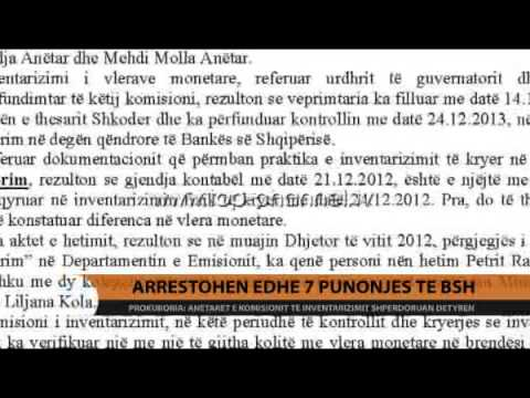 Arrestohen edhe 7 punonjës të BSH-së - Top Channel Albania - News - Lajme