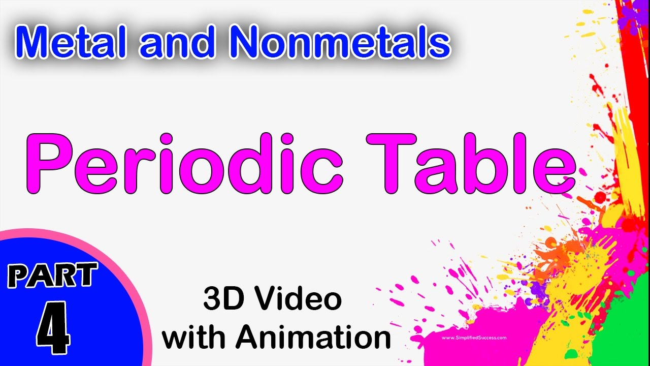 Periodic table metal and nonmetals cbse 12 physics jee main periodic table metal and nonmetals cbse 12 physics jee main and advanced physics 2 physics gamestrikefo Choice Image