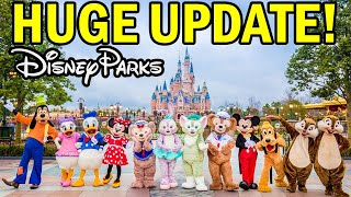 HUGE Disney Parks REOPENING UPDATE and Construction NEWS!
