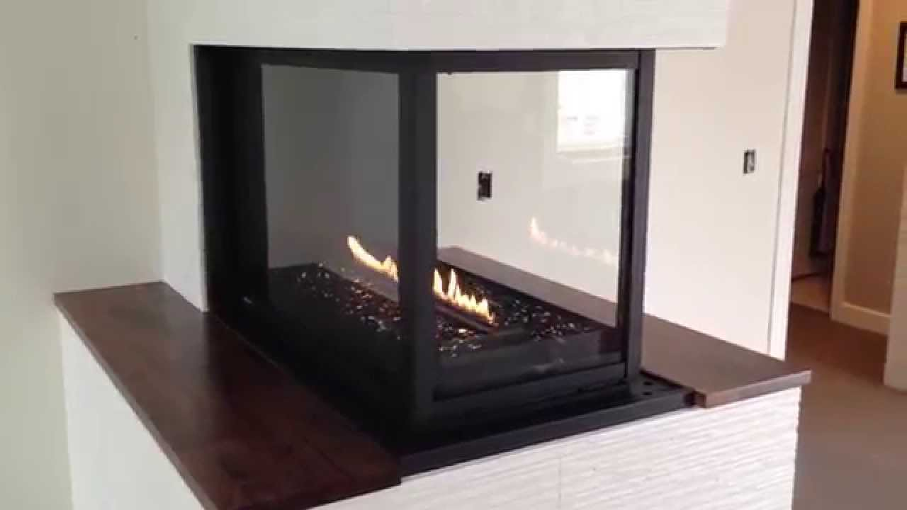 3 sided HL38PFN Montigo by Colorado Custom Fireplace - YouTube