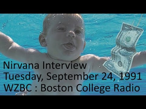 Nirvana Interview on WZBC Radio : September 24, 1991 : Boston College, Newton, MA, USA