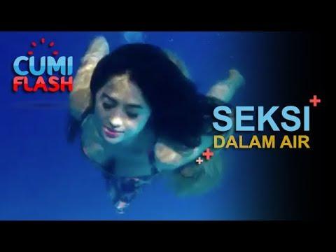 Seksi Saat Renang, Dewi Perssik Bikin Nggak Tahan - CumiFlash 22 Februari 2018