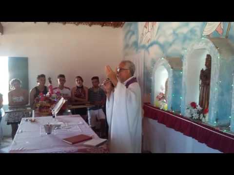 Padre Machado Cantando A Louvação Do Advento