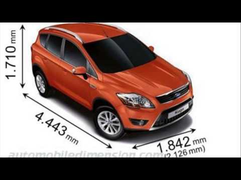 Kuga Dimensions >> Ford Kuga Dimensions Youtube