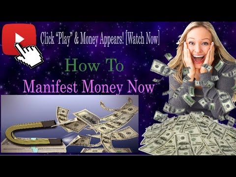 Manifest Money Now { and all the wealth you desire}