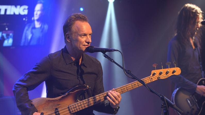 Sting Shape Of My Heart Live Le Grand Studio Rtl Youtube