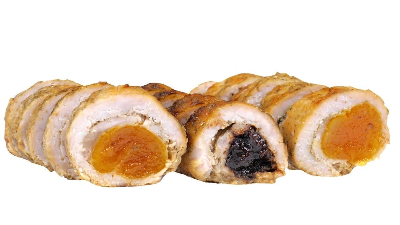 Свинина фаршированная черносливом рецепт в духовке с фото