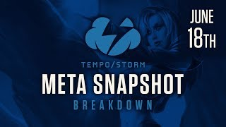 Hearthstone Meta Snapshot Breakdown: June 18th, 2017