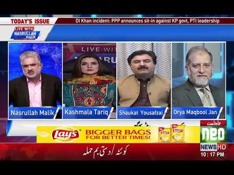 Live With Nasrullah Malik   12 Nov 2017