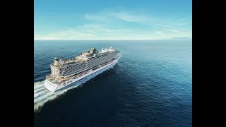 This is the live of the exclusive MSC Seaside Naming Ceremony in Mi...
