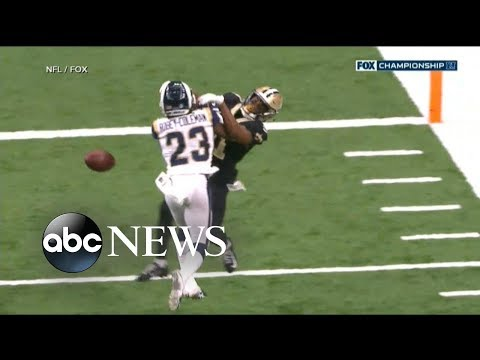 NFL slammed over bad call in Saints playoff game Mp3