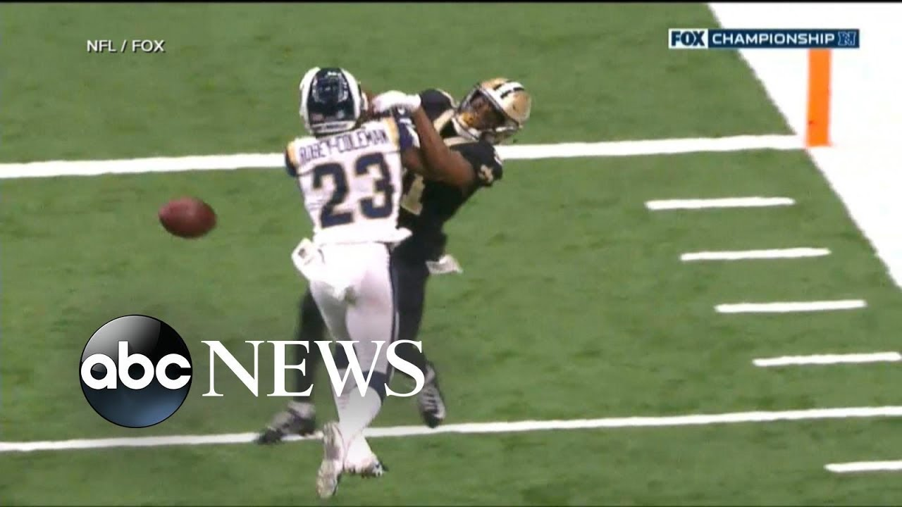 Saints lose on controversial pass interference no-call again, former ...