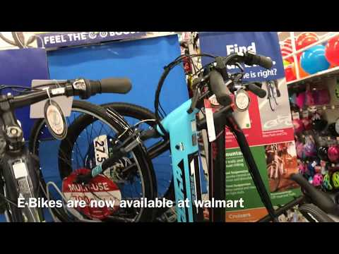 E-BIKES Are Now Available At Walmart
