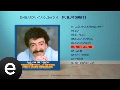 Adını Sen Koy (Müslüm Gürses) Official Audio #adınısenkoy #müslümgürses