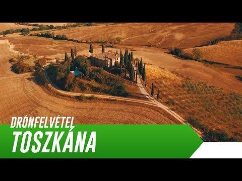 TOSZKÁNA - AHOGY MÉG SOSEM LÁTTAD | Olaszország | Drónfelvétel [4K]
