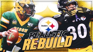 Pittsburgh Steelers Realistic Rebuild | Trey Lance Is a Phenom! | Madden 20 Franchise