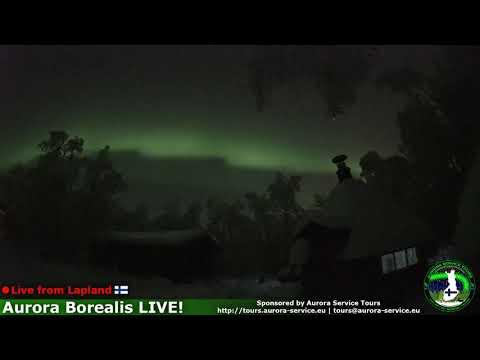 Aurora boreale dal vivo - diretta live