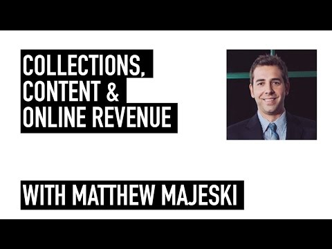 Collections, Content & Online Revenue | 2016 Summit on E-Commerce in Museums