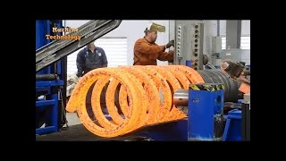 HYPNOTIC Video Inside Extreme Forging Factory Steel Hydraulic Pneumatic Hammer Mega Machine CNC