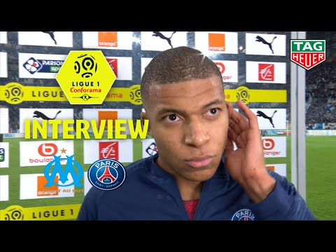 Interview de fin de match :Olympique de Marseille - Paris Sa