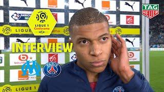 Interview de fin de match :Olympique de Marseille - Paris Saint-Germain ( 0-2 )  / 2018-19
