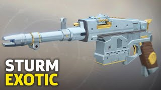 Destiny 2 - How To Get The Exotic Hand Cannon Sturm