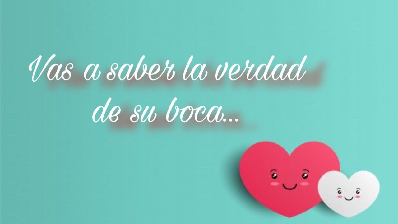 💞 VAS A SABER LA VERDAD DE SU BOCA...💞 PERSONA ESPECIAL/EX