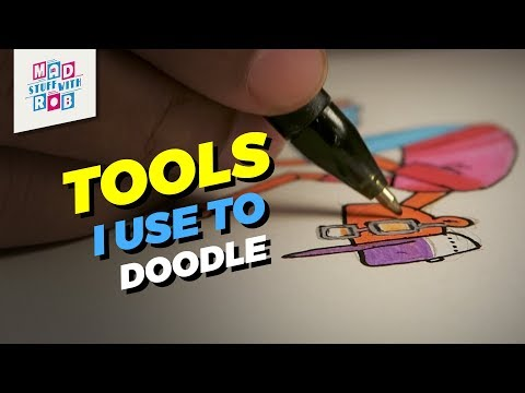 Tools I Use To Doodle | DIY Kit Giveaway