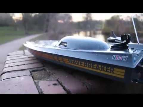 Reely Wavebreaker & Amewi Blue Barracuda Gopro onboard RC Speedboat