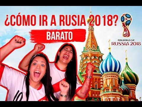 LA FORMA MÁS BARATA DE VIAJAR AL MUNDIAL 2018 EN RUSIA - MPV