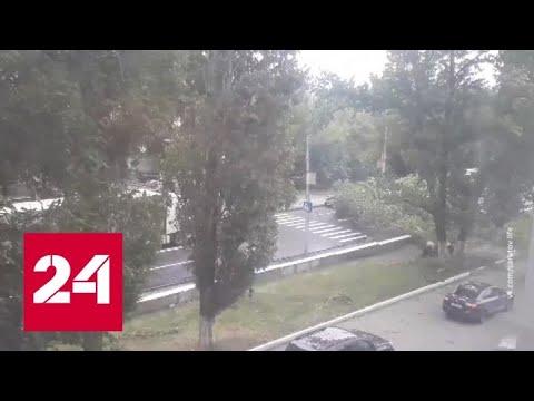 """""""Погода 24"""": циклон-разрушитель идет по России - Россия 24"""