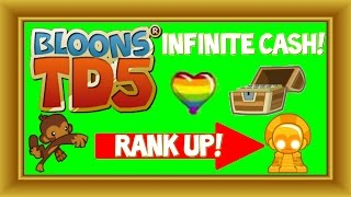Bloons TD 5 Mobile/Steam - Fastest Rank Up! + Infinite Cash (No Hack/Cheat)