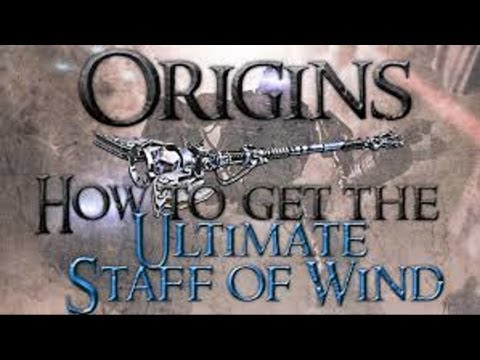 """Black Ops 2 Origins"" Ultimate Wind Staff Guide/Tutorial! (Boreas Fury!)"