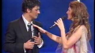 Celine Dion & Fiorello - Grande Grande Grande (Live @ Stasera Pago Io 2002)