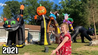 5 20 Ft Tall Halloween Inflatables