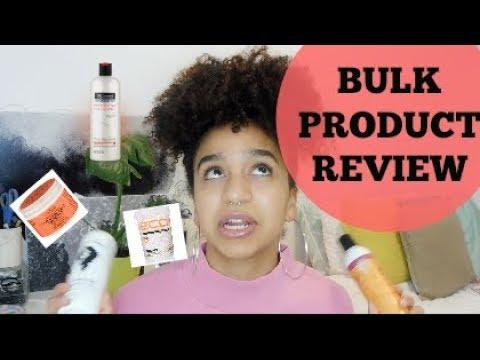 BULK Australian Natural Hair Product Review