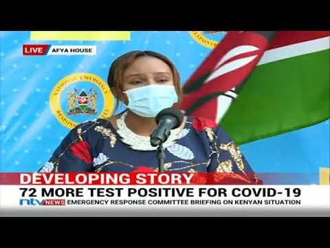 Kenya's Covid-19 Cases Rise To 1,286 As Lang'ata Reports 21, Dagoretti 16