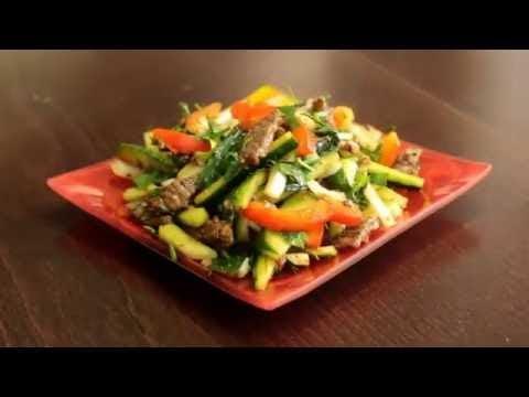 Рецепт салата плавленого сыра с чесноком