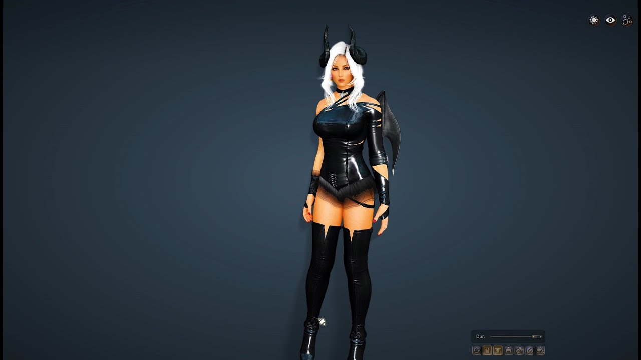 Bdo New Halloween Costume 2020 Black Desert   Halloween Event Costumes Furniture   YouTube