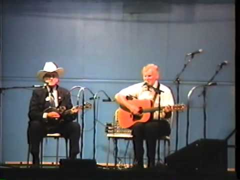 Very Rare Bill Monroe & Doc Watson Video - Duet - 1990 - Long Journey Home