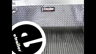 Review Of The Deezee Narrow Crossover Truck Bed Toolbox - Etrailer.com