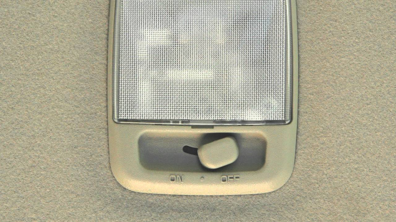 Nissan Sentra Owners Manual: Map lights